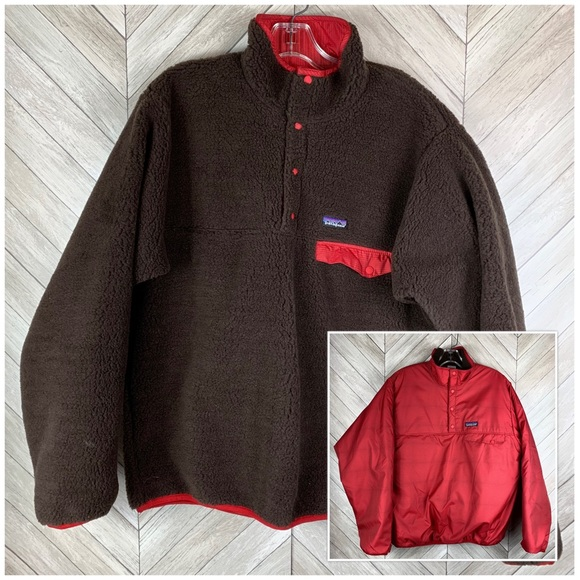 Patagonia Other - Reversible Patagonia pullover jacket